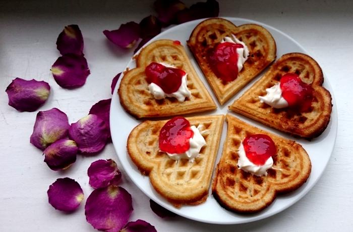 Vegan waffles.