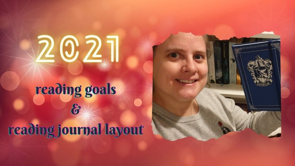 2021 Reading Goals & Reading journal Layout